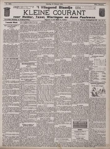 Vliegend blaadje : nieuws- en advertentiebode voor Den Helder 1914-02-28
