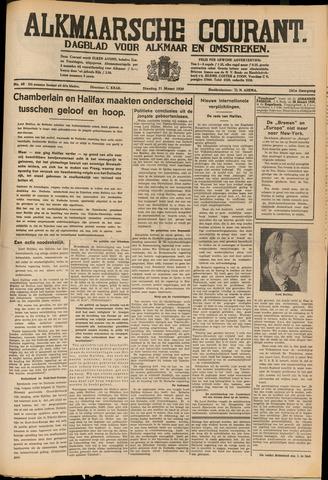 Alkmaarsche Courant 1939-03-21