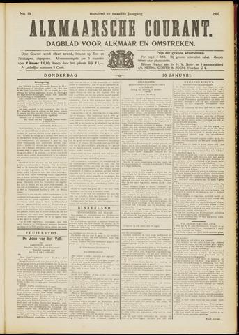 Alkmaarsche Courant 1910-01-20
