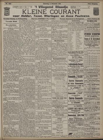 Vliegend blaadje : nieuws- en advertentiebode voor Den Helder 1909-12-11