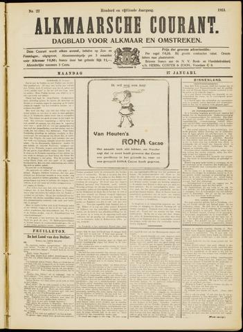 Alkmaarsche Courant 1913-01-27
