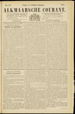 Alkmaarsche Courant 1887-12-18