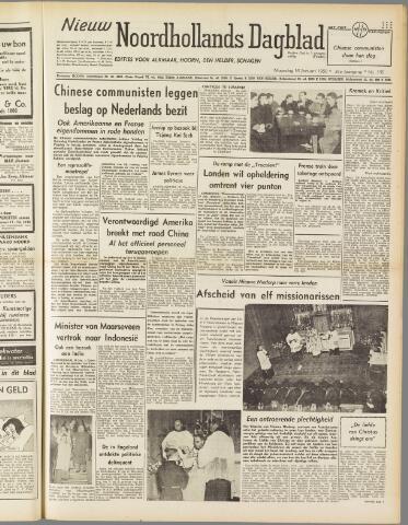 Nieuw Noordhollandsch Dagblad : voor Alkmaar en omgeving 1950-01-16