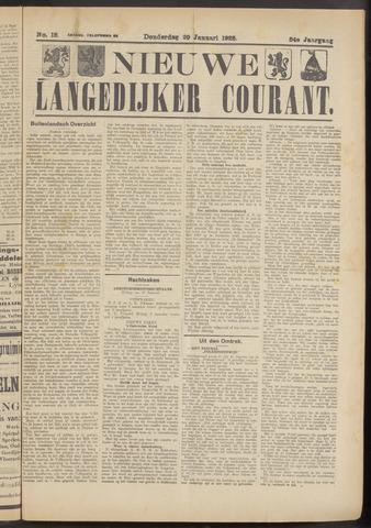 Nieuwe Langedijker Courant 1925-01-29