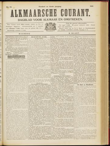 Alkmaarsche Courant 1908-03-16