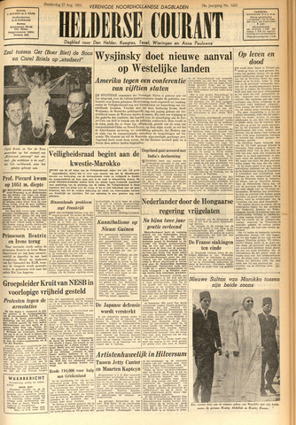 Heldersche Courant 1953-08-27