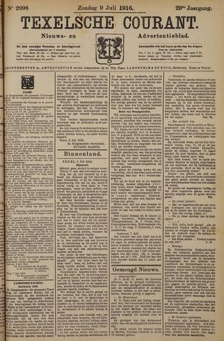 Texelsche Courant 1916-07-09