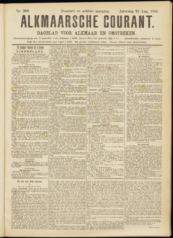 Alkmaarsche Courant 1906-08-25