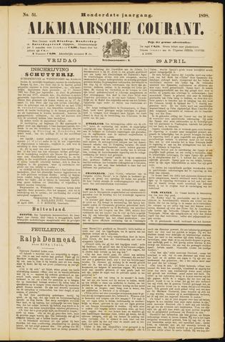 Alkmaarsche Courant 1898-04-29