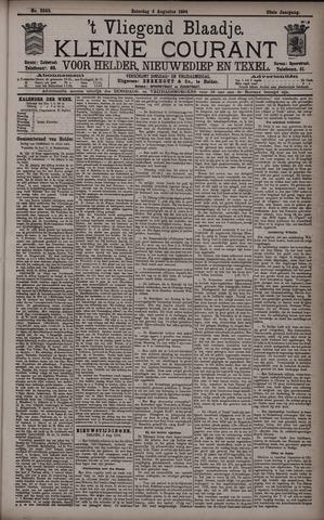 Vliegend blaadje : nieuws- en advertentiebode voor Den Helder 1894-08-04
