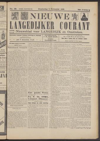 Nieuwe Langedijker Courant 1925-11-05