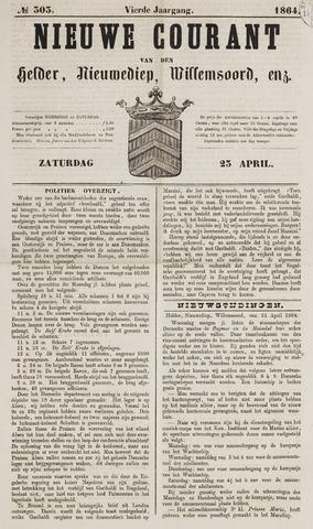 Nieuwe Courant van Den Helder 1864-04-23