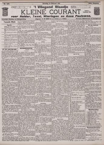 Vliegend blaadje : nieuws- en advertentiebode voor Den Helder 1912-02-10
