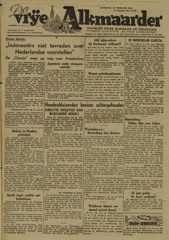 De Vrije Alkmaarder 1946-02-23