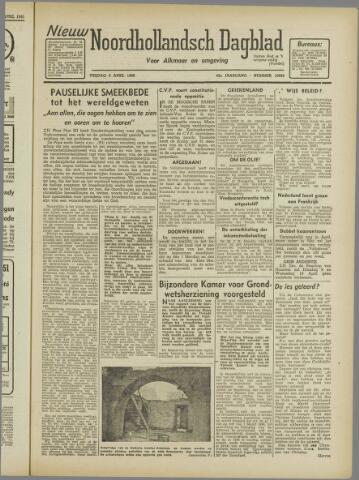 Nieuw Noordhollandsch Dagblad : voor Alkmaar en omgeving 1946-04-05