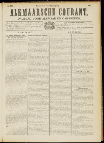 Alkmaarsche Courant 1910-10-06