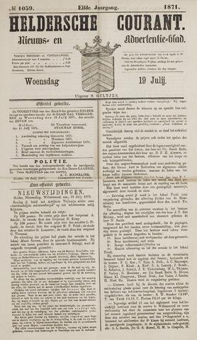 Heldersche Courant 1871-07-19