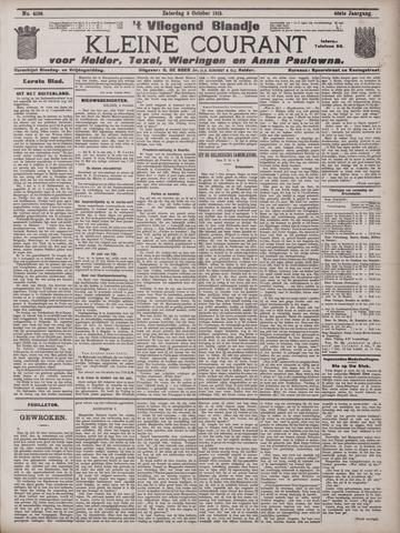 Vliegend blaadje : nieuws- en advertentiebode voor Den Helder 1912-10-05