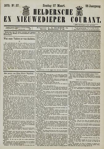 Heldersche en Nieuwedieper Courant 1870-03-27
