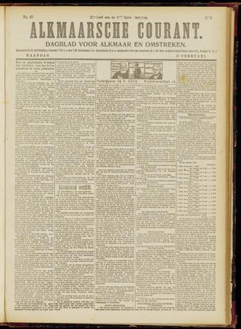 Alkmaarsche Courant 1919-02-17