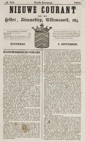 Nieuwe Courant van Den Helder 1864-09-03