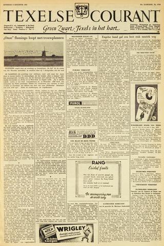 Texelsche Courant 1953-08-08