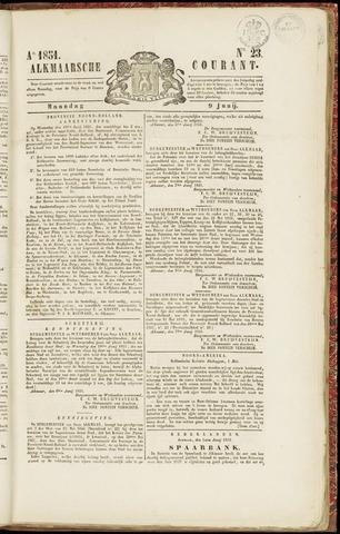 Alkmaarsche Courant 1851-06-09