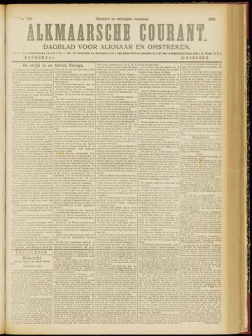 Alkmaarsche Courant 1918-10-10