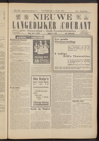 Nieuwe Langedijker Courant 1931-06-06