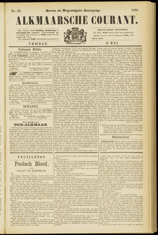 Alkmaarsche Courant 1895-05-17
