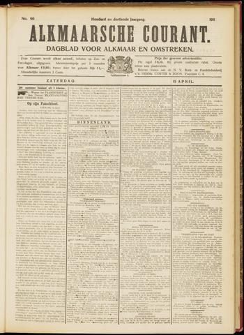 Alkmaarsche Courant 1911-04-15