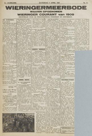 Wieringermeerbode 1942-04-04