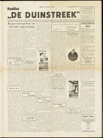 De Duinstreek 1960-03-18