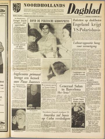 Noordhollands Dagblad : dagblad voor Alkmaar en omgeving 1960-11-02