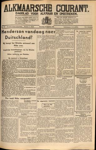 Alkmaarsche Courant 1939-08-28