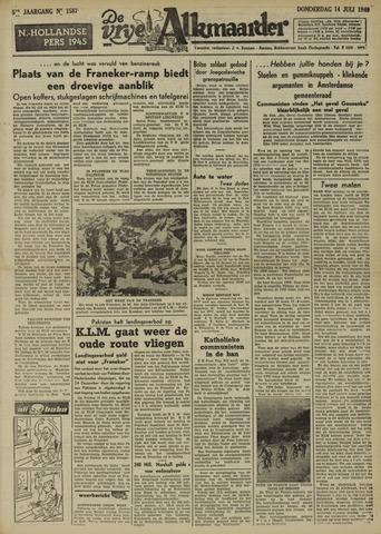 De Vrije Alkmaarder 1949-07-14