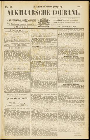 Alkmaarsche Courant 1902-02-28