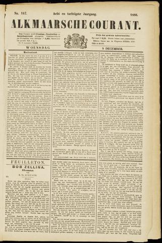 Alkmaarsche Courant 1886-12-08
