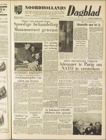Noordhollands Dagblad : dagblad voor Alkmaar en omgeving 1959-12-02