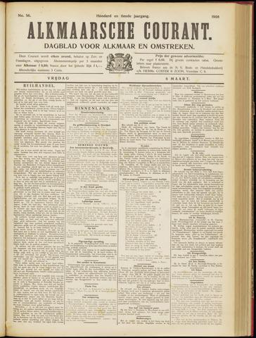 Alkmaarsche Courant 1908-03-06