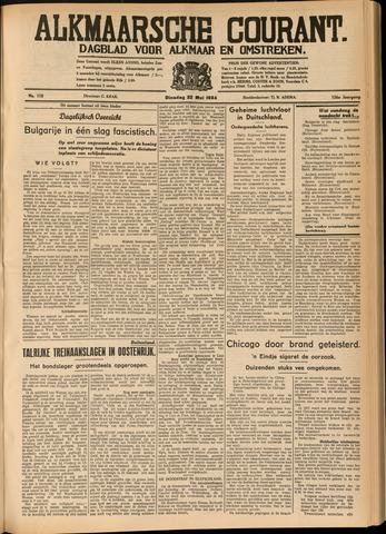 Alkmaarsche Courant 1934-05-22