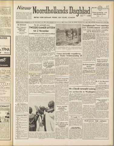 Nieuw Noordhollandsch Dagblad : voor Alkmaar en omgeving 1950-10-26