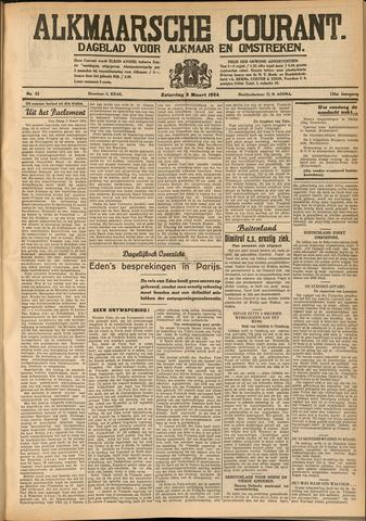 Alkmaarsche Courant 1934-03-03
