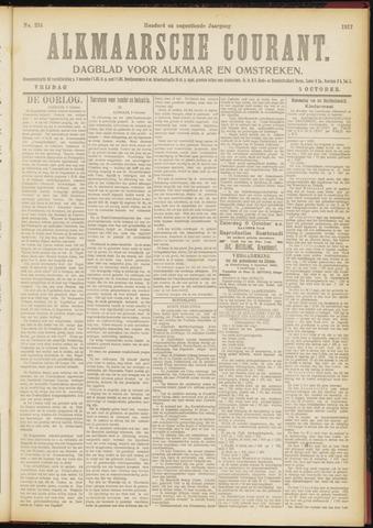 Alkmaarsche Courant 1917-10-05