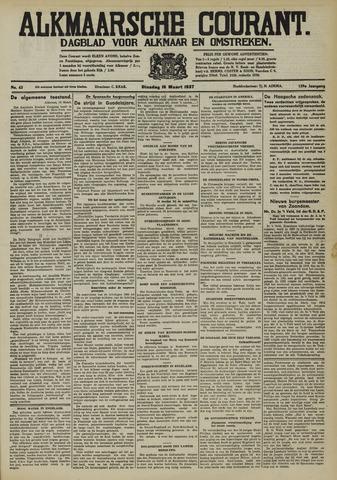 Alkmaarsche Courant 1937-03-16