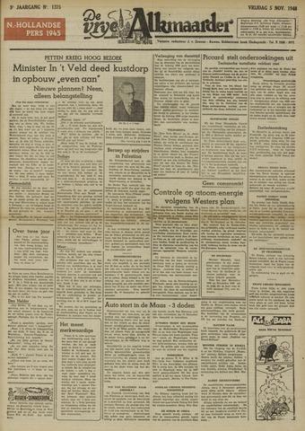De Vrije Alkmaarder 1948-11-05