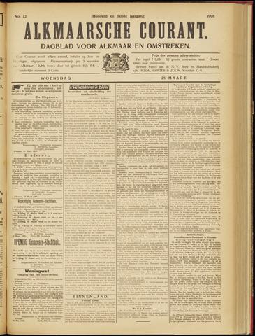Alkmaarsche Courant 1908-03-25