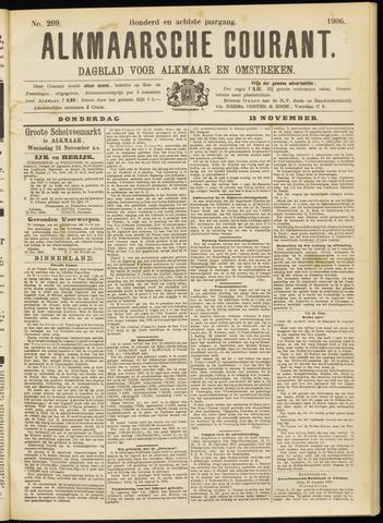 Alkmaarsche Courant 1906-11-15