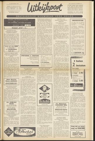 Uitkijkpost : nieuwsblad voor Heiloo e.o. 1963-09-12