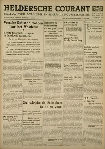 Heldersche Courant 1939-09-08